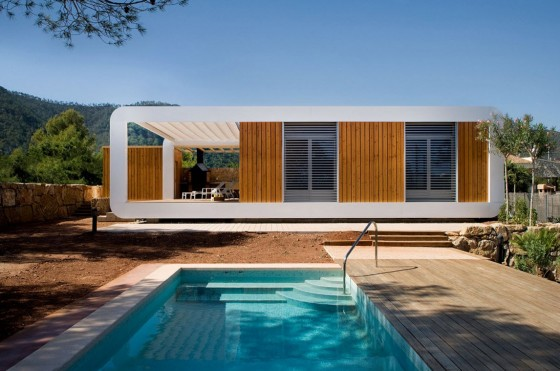 Modern houses are self-sufficient